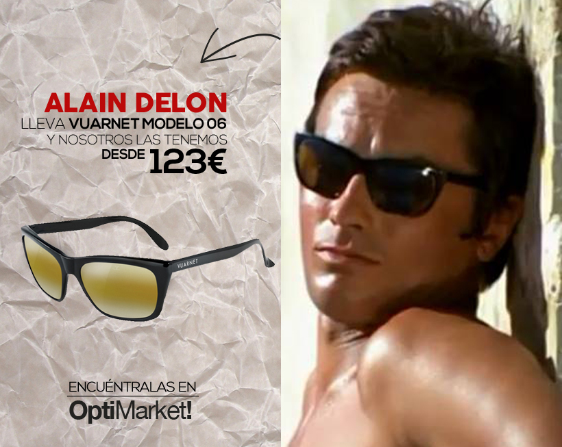 VUARNET ALAIN DELON MODELO 06 LA PISCINE